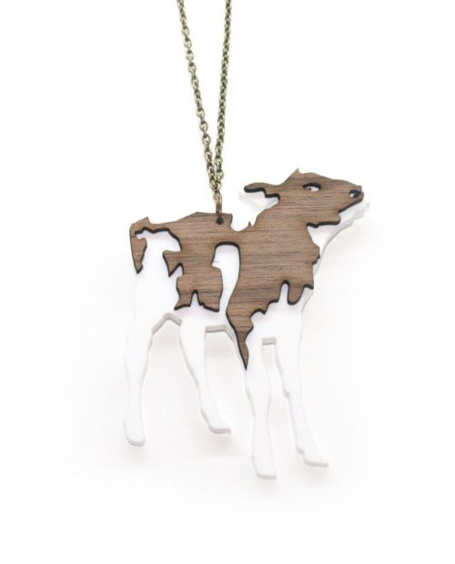 Animalia Charity Cow pendant