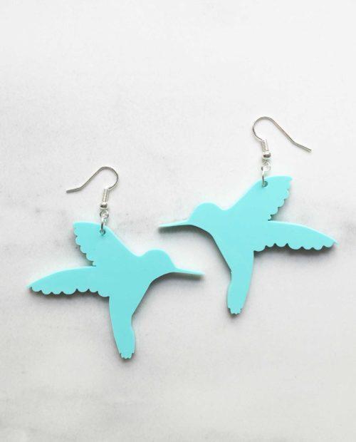 Vilma Hummingbird earrings