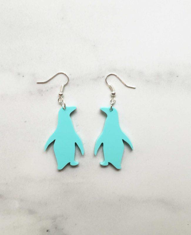 Bozan Penguin earrings