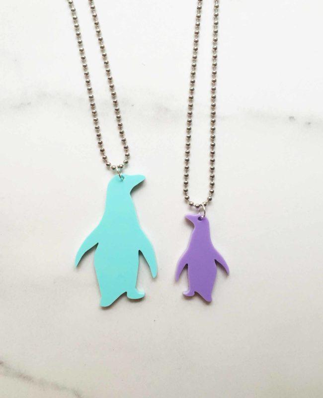 Bozan Penguin pendant