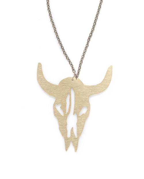 Johnny Wayne Skull necklace