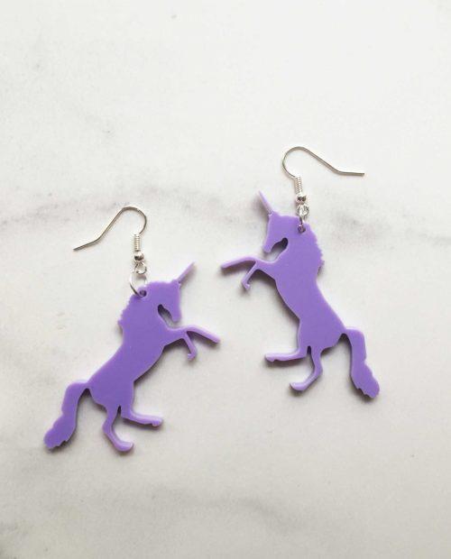 Yaseed Unicorn earrings