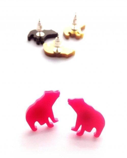 Björn Bear earring studs
