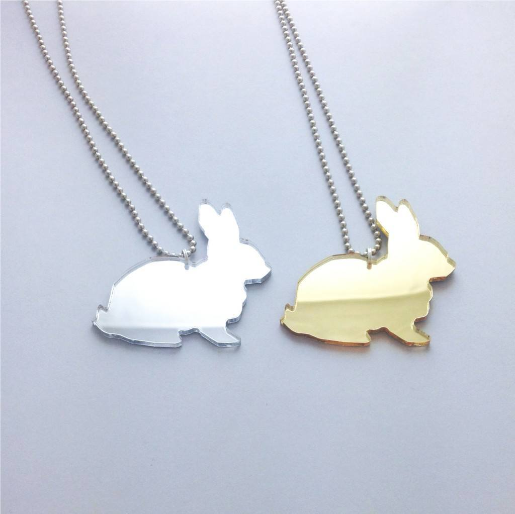Pauliina bunny pendant titimadam pauliina bunny pendant back aloadofball Choice Image