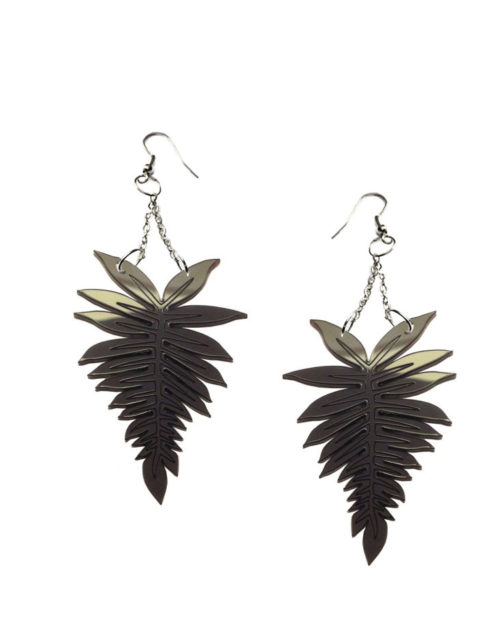 Fern chandelier earrings