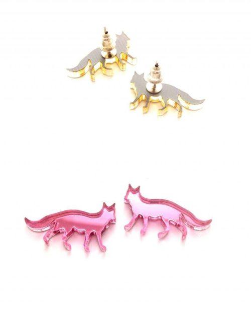 Fanny Fox earring studs