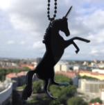 Yaseed Unicorn pendant