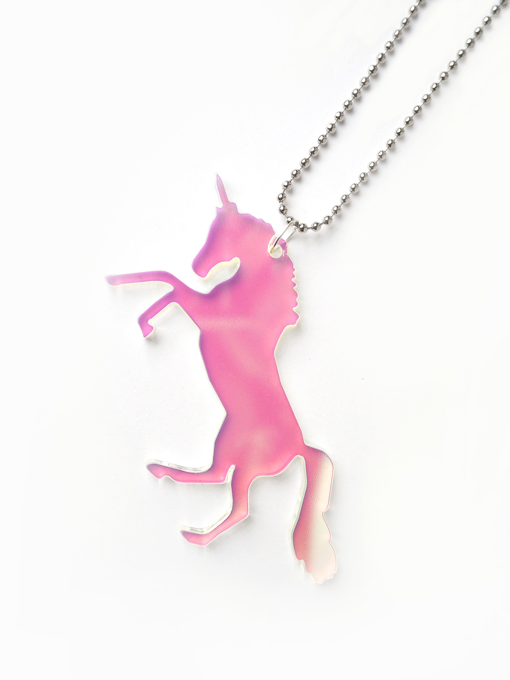 queer af accessories necklace unicorn steer pendant